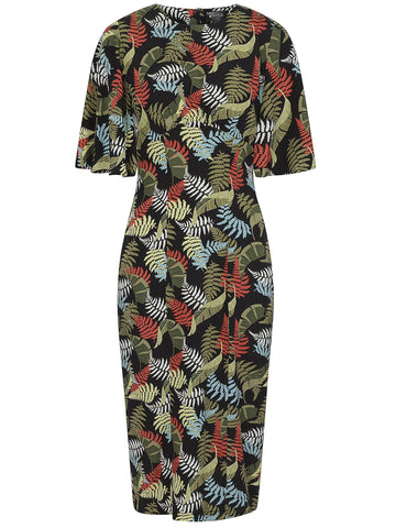 Nylal Palm Dress