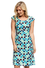 Elsy Dress Arctic Blue
