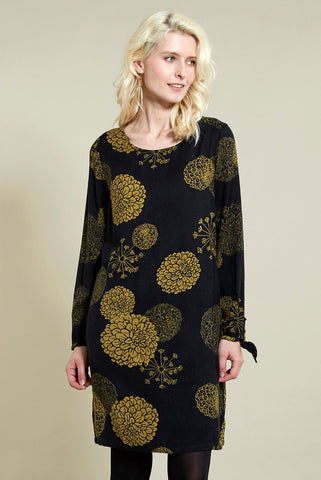 Coal Bloom Dress