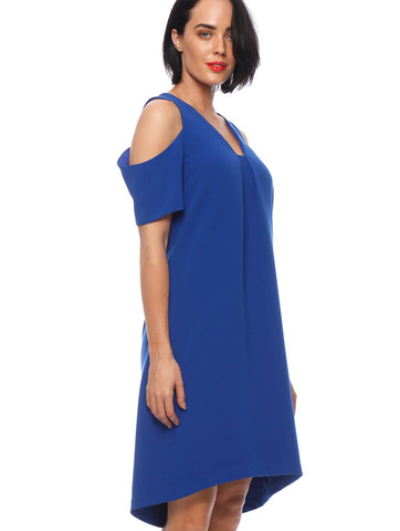 Royal Blue Sonnet Dress