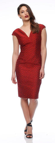 Heather Dress Red