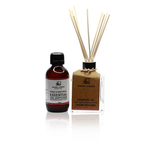 Vasse room diffuser with oil