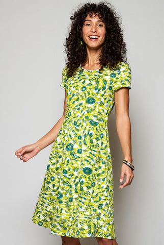Tresco Jersey Dress-Citrus