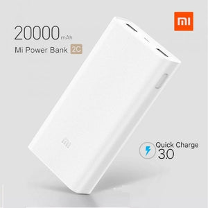 POWER BANK Xiaomi Mi  2C FAST CHARGE DOUBLE SORTIE USB ORIGINAL