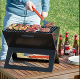 Barbecue Pliable Et Portable Au Charbon