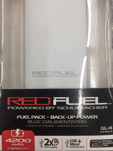 POWER BANK RED FUEL 4200 mah fast charge SL4