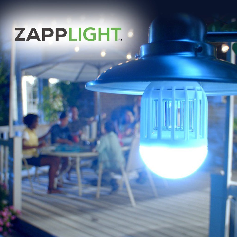ZAPPLIGHT™ - LAMPE ANTI-MOUSTIQUE