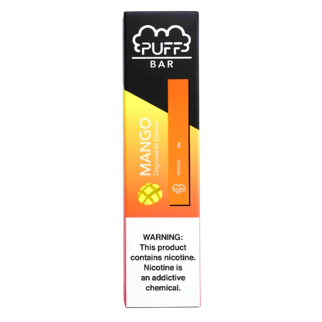 MANGO FLAVORED DISPOSABLE PUFF BAR