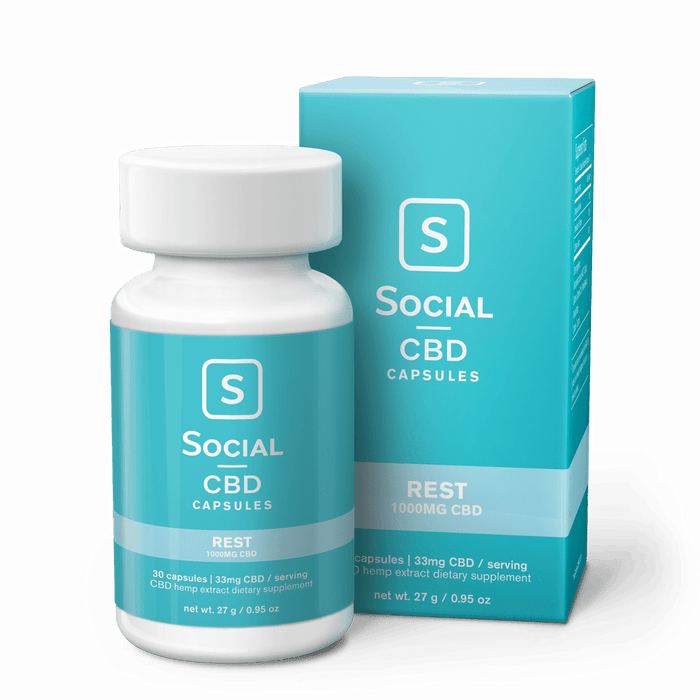 Rest | CBD Gel Capsules