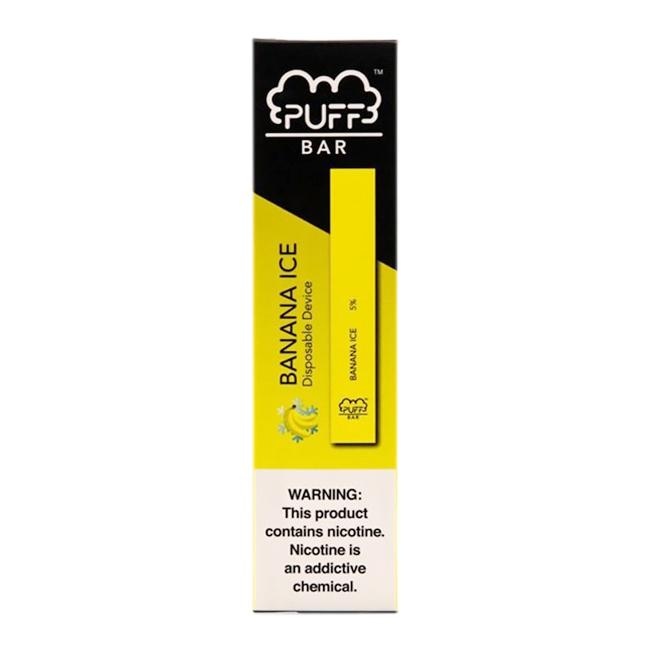 BANANA ICE DISPOSABLE PUFF BAR