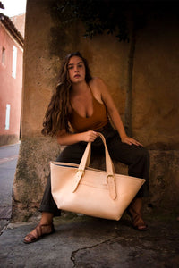 """Roussillon"" Leather Bag"