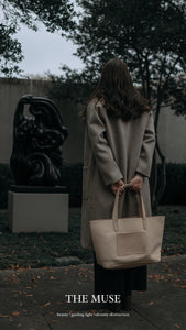 Dreamers Leather Tote - Natural