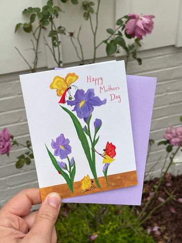 Mother's Day Iris Card