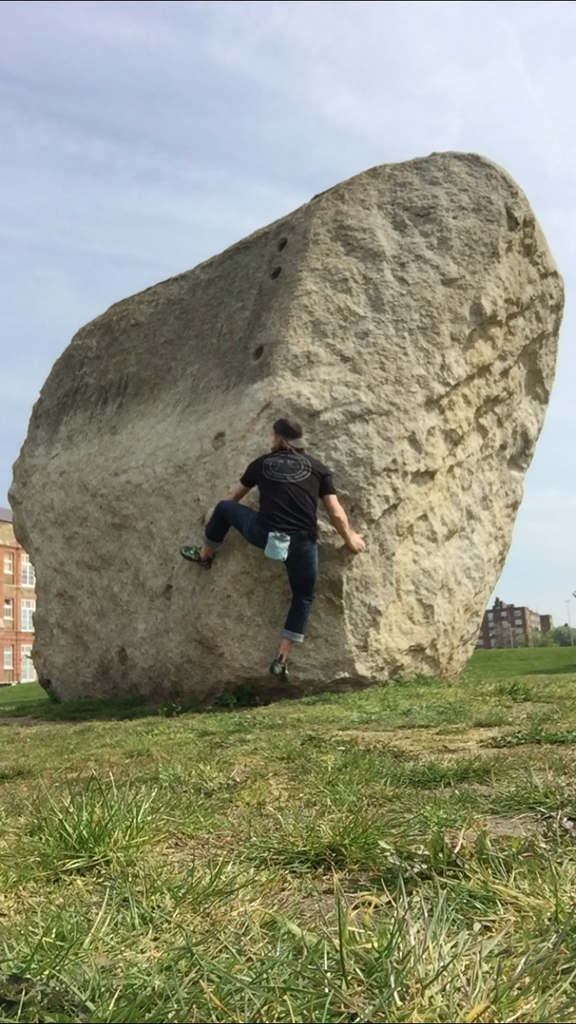 Shoreditch Boulder- The only outdoor climbing in London on real rock.