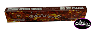 Amber Gold Incense Sticks