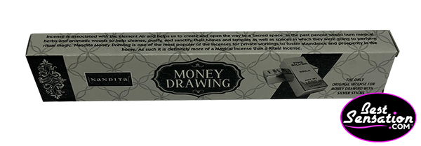 Nandita Money Drawing Silver Incense Sticks