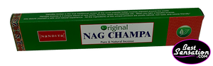 Nandita Original Nag Champa Pure & Natural Incense Sticks
