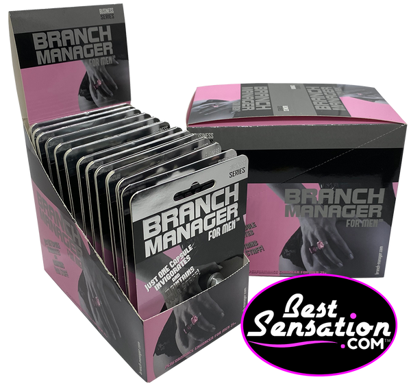 Branch Manager Sex Enhancer for Men - 24 Single Packs