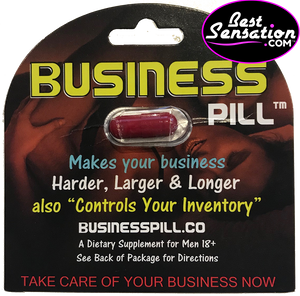Business Pill Sex Enhancer for Men - 24 Single Packs