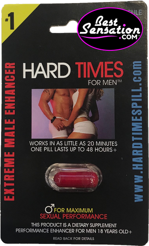 Hard Times Original Sex Enhancer for Men - 24 Single Packs