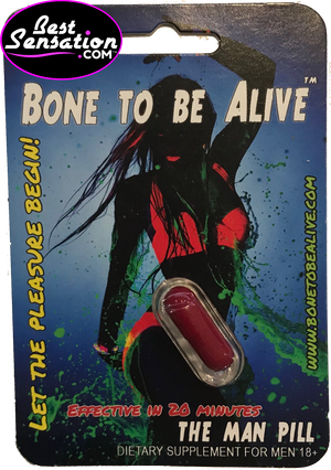 Bone to be Alive Sex Enhancer for Men - 24 Single Packs