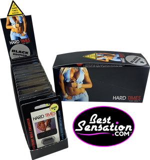 Hard Times BLACK Edition Sex Enhancer for Men - 24 Single Packs