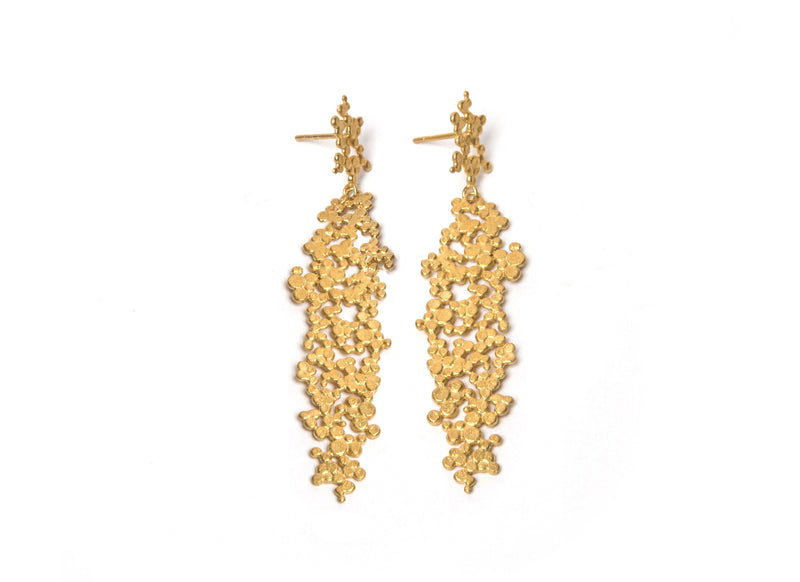 Gold Plated Earrings - ArtLofter