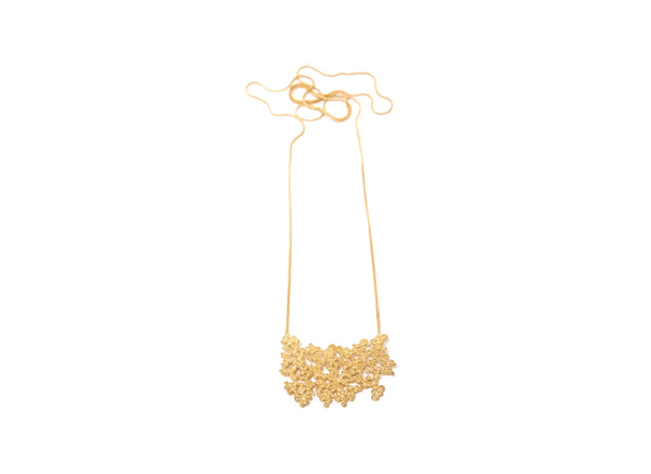 Gold Plated Necklace - ArtLofter