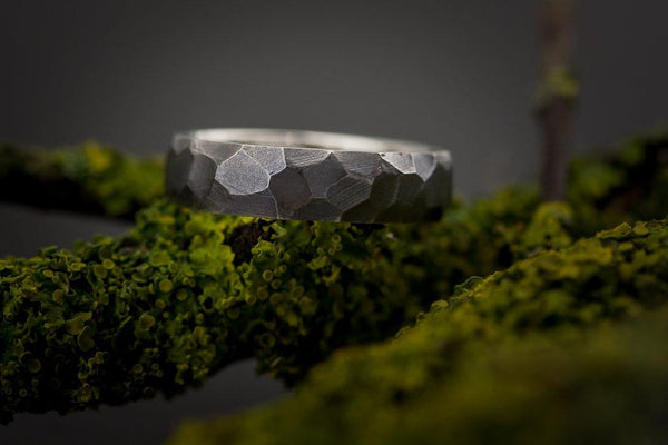 Silver Male Ring - ArtLofter