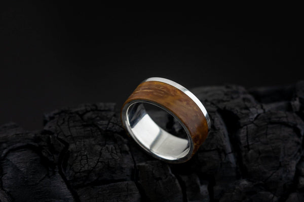 Ring Male With Wood - ArtLofter