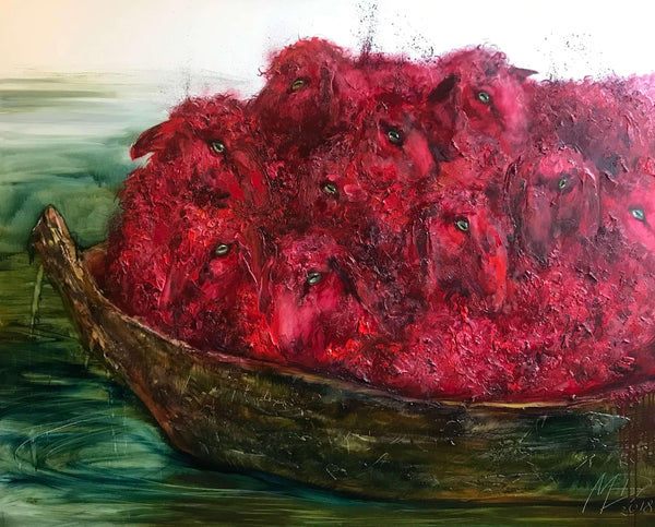 'The Red Boat' - ArtLofter