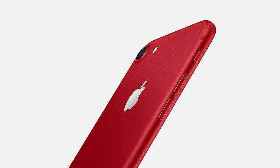 Apple launches red iPhone 7 and new 9.7-inch iPad