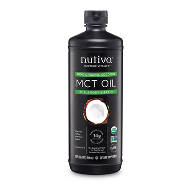 MCT OIL NUTIVA  946ml. EN OFERTA!!!!!