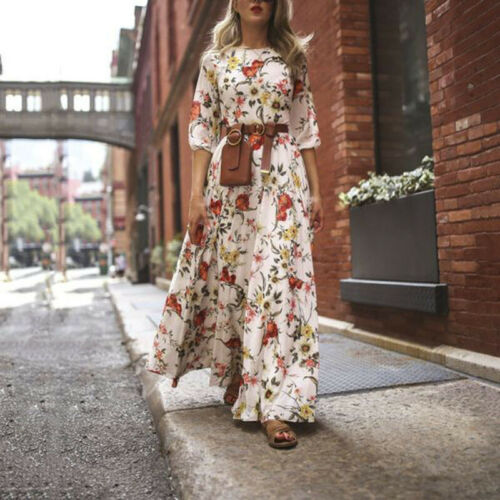 High Waist Maxi Dress (M28) - Clothing Deals Online