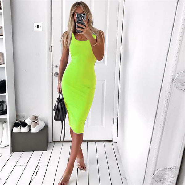 Sexy Slim Fit Party Dress (759) - Clothing Deals Online