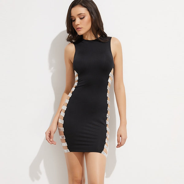 Sleeveless Sexy Party Dress (531) - Clothing Deals Online