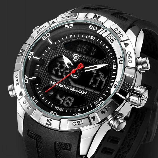 Double Movement Chronograph Sport Watch (596) - Clothing Deals Online