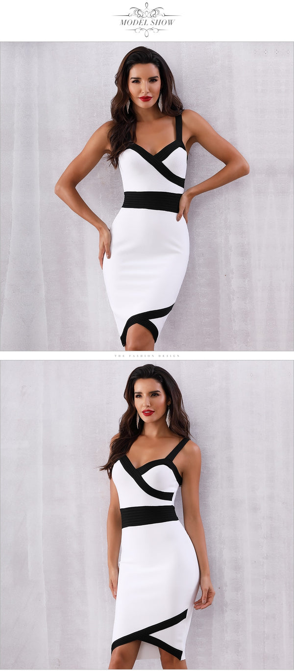 White Midi Dress (5157) - Clothing Deals Online