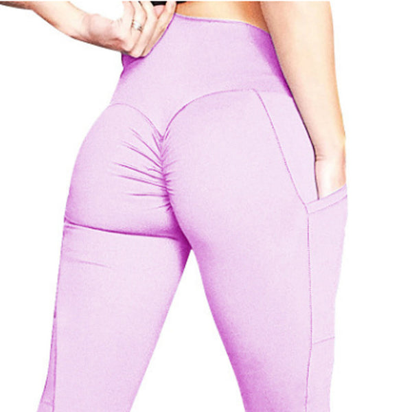High Waist Leggings With Pockets (101) - Clothing Deals Online