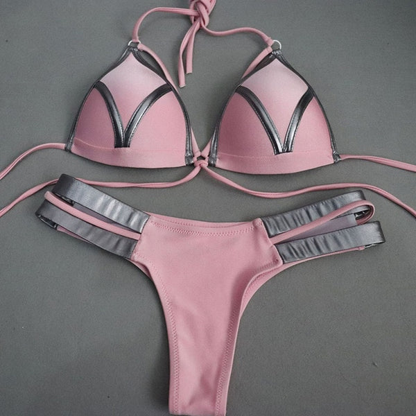 Sexy Brazilian Bikini Set (8092) - Clothing Deals Online