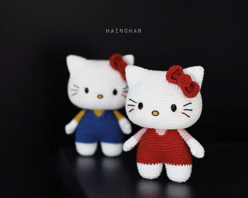 Crochet Hello Kitty free pattern amigurumi | Amigurumi Space | 288x359