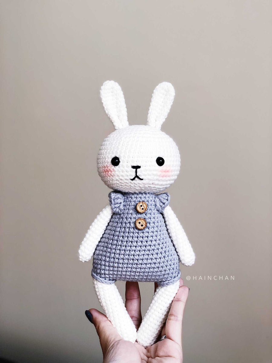 Lucy the Bunny - Crochet PDF pattern, instant download
