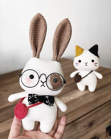 Rey The Little Bunny - Crochet PDF pattern, instant download
