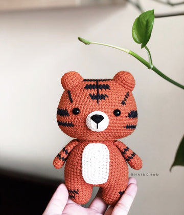 Little Tiger – Crochet PDF pattern, instant download