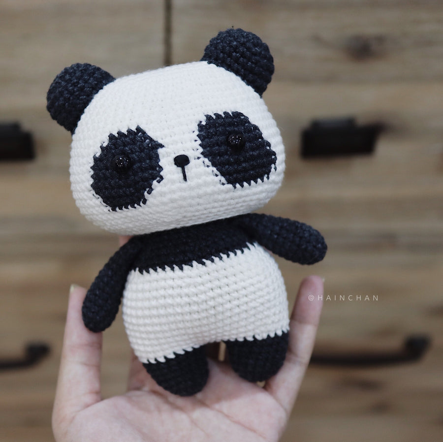 Fei Fei The Little Panda - Crochet PDF pattern, instant download