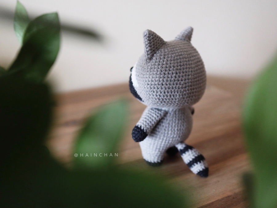 Tico The Little Racoon – Crochet PDF pattern, instant download