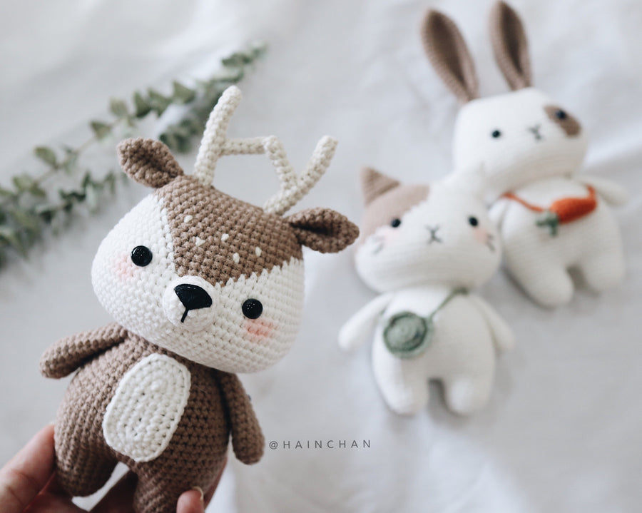 Little Deer – Crochet PDF pattern, instant download