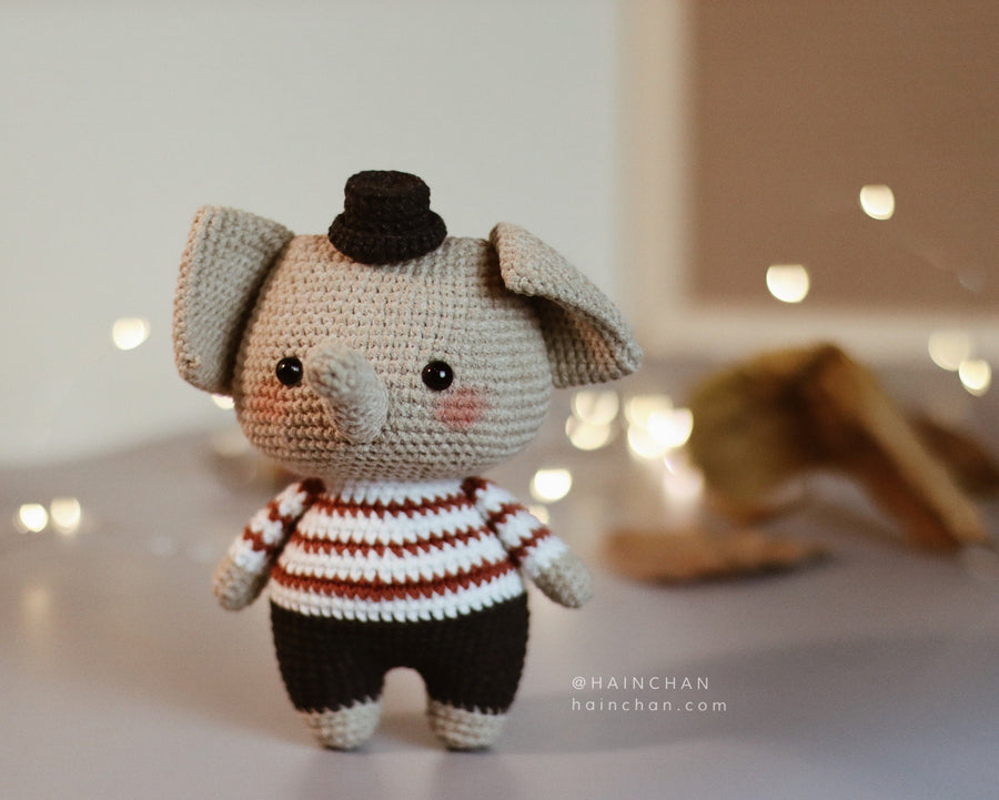 Little Elephant – Crochet PDF pattern, instant download