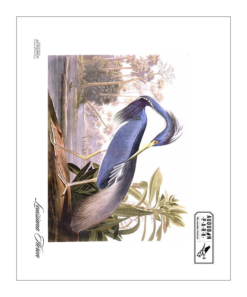 APGD, Pocket/Kitchen/Tea Towel, LH, LOUISIANAHERON, S