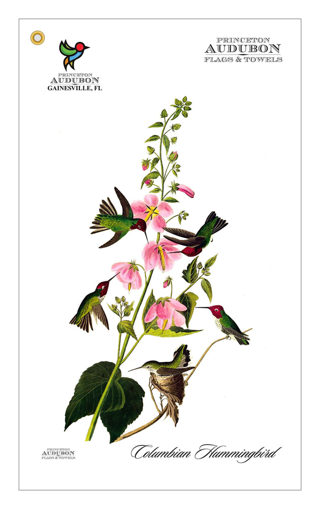 Golf Bag Towel Columbian Hummingbird